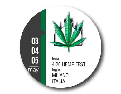 4.20 Hemp Fest Milano Italia