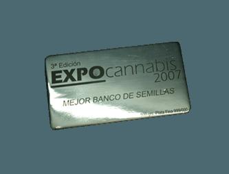 Mejor Banco de semillas Expocannabis 2007