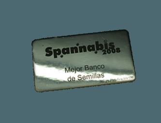 Mejor Banco de semillas Spannabis 2008